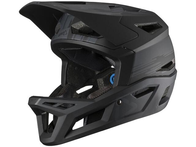 Leatt DBX 4.0 Super Ventilated Full Face Helmet black